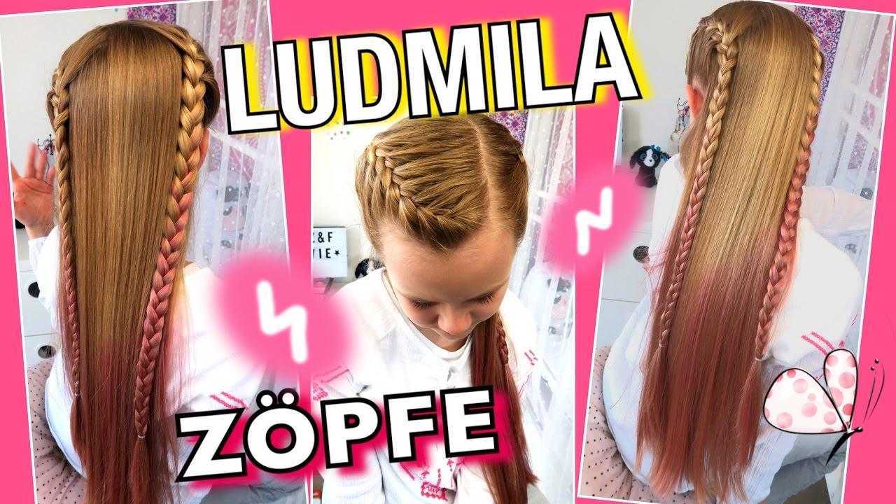 Ludmila Zöpfevioletta Inspiriertcoole Mädchen Zöpfefrisuren
