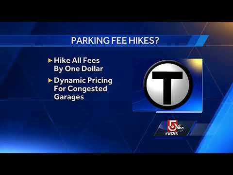 MBTA mulling raising parking fees