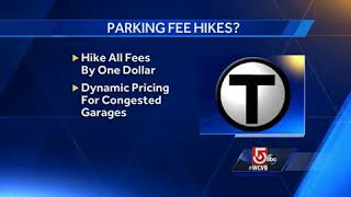 MBTA mulling raising parking fees