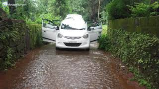 Hyundai eon car water moving gif