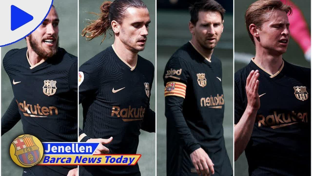 FC Barcelona News: 12 May 2021; Frenkie de Jong suspended ...