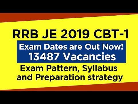 Important General Science Questions for RRB JE CBT-1 2019 Exam
