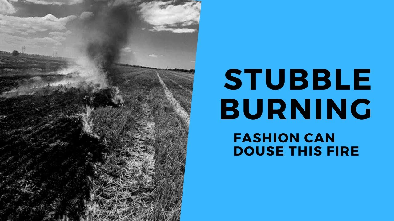 How Textile Industry can help in reducing Stubble Burning?