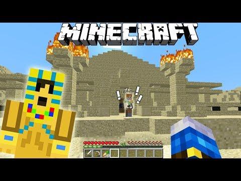 EXPLORAM O PIRAMIDA INFRICOSATOARE!! CU PAIN - Minecraft Pierduti In Desert #6