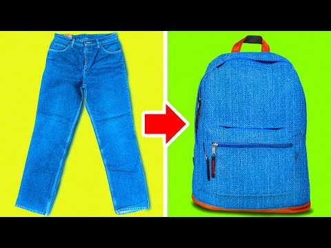 26 BRILLIANT HACKS AND CRAFTS WITH YOUR OLD JEANS