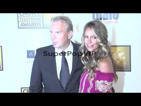 Kevin Costner, Christine Baumgartner at 2012 Critics' Cho...