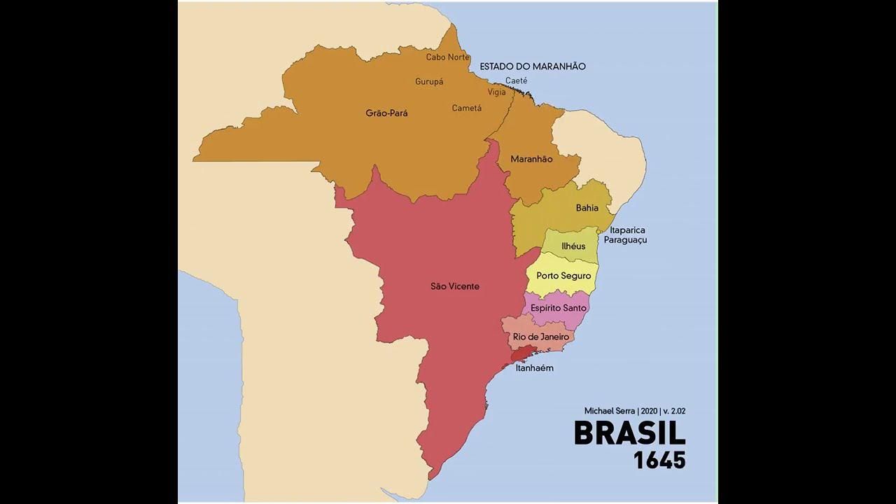Evolução do território brasileiro