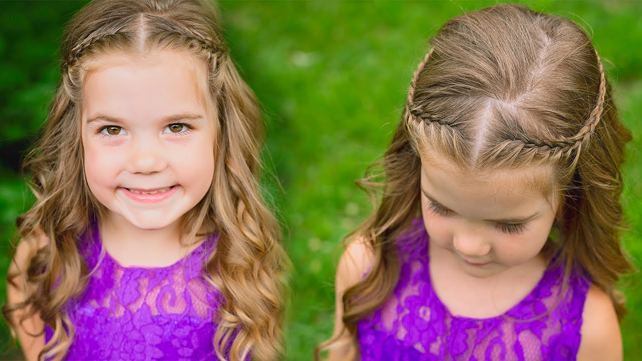 flower girl hairstyles tutorial