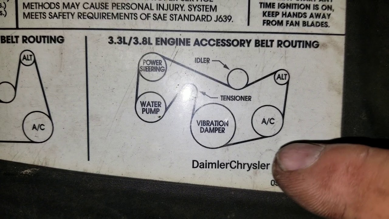 2001 Pt Cruiser Belt Diagram Http Wwwjustanswercom Chrysler 2g341