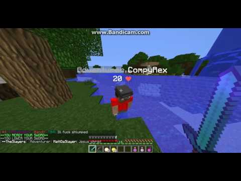 CompyRex Hacking on saicopvp (fly) zombie realm