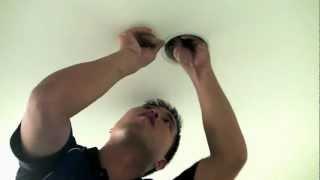 舊屋翻新全紀錄●水電師傅如何安裝崁燈