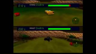 Carmageddon 64 (N64) Multiplayer