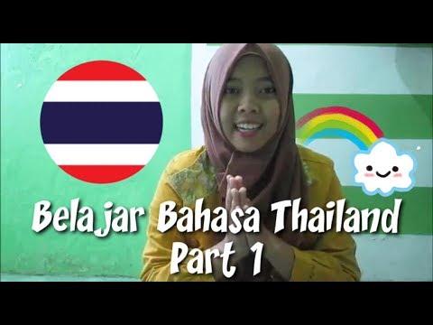 #VBBT01 Belajar Bahasa Thailand [Greetings & Introductions part 1]