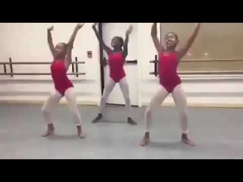 3 black Girls Dance on JUJU on that beat with a different style ! Ballet edition
