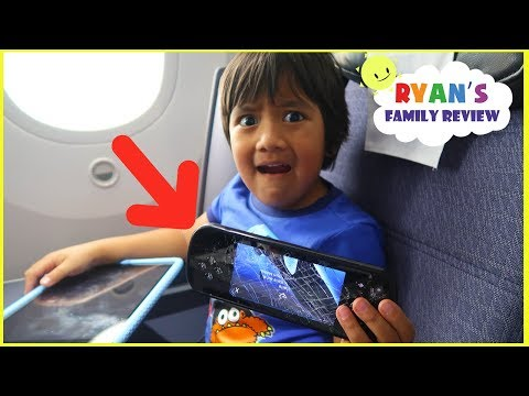 Ryan Family Review Roblox Natural Disaster Repeat Someone Broke The Screen On The Airplane By Ryan S Family Review You2repeat