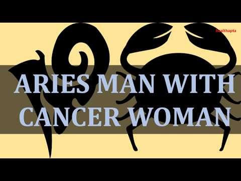 cancer man dating aries woman