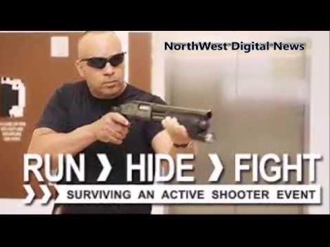 Surviving an ACTIVE THREAT - NorthWest Digital News - Sheriff Mark Nelson, Jordon Spencer