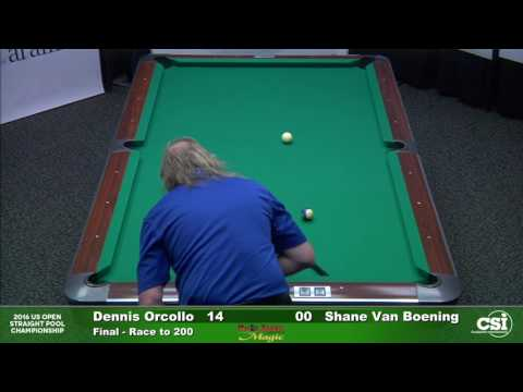 Match 14 Final Dennis Orcollo vs Shane VanBoening