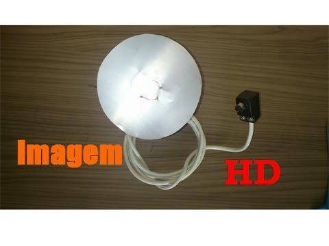 Antena Interna Hd Feita Com Lata De Aluminio Youtube