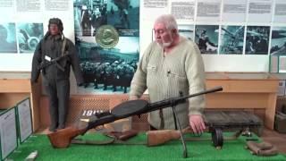 Стрелковое оружие второй мировой войны в Музее ветеранов Афганистана и локальных конфликтов. 062