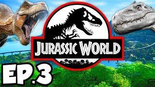Jurassic World: Evolution Ep.3 - CARNIVORE DINOSAURS, CERATOSAURUS ATTACK!!! (Gameplay / Let