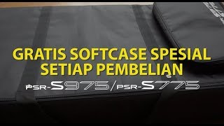 PROMO Free Softcase PSR-S975/S775