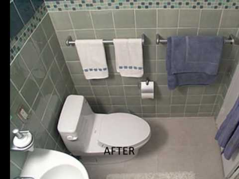 Small bathroom quick fix youtube for Quick fix bathroom ideas