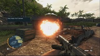 Far Cry 3 - Weed Burning Scene HD [PC][60FPS]