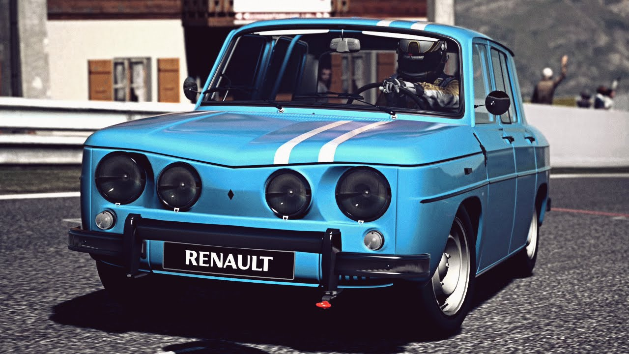 gt6 renault r8 gordini 39 66 exhaust comparison youtube. Black Bedroom Furniture Sets. Home Design Ideas