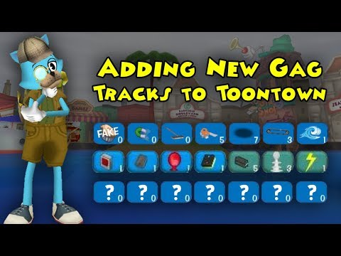 Adding New Gags To Toontown