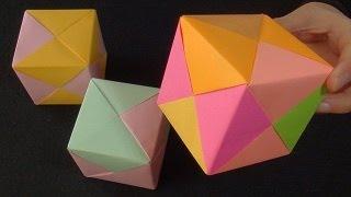 Origami Küp Yapımı - Cetvelsiz ve yapıştırıcısız - Teknoloji ve Tasarım
