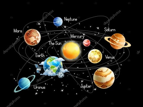 How to make 3d solar system school projec part4 YouTube