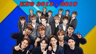Kumpulan Lagu EXO Lengkap Mulai dari Album Debut 2012 Sampai 2019