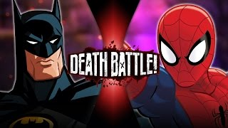 DEATH BATTLE! - Batman VS Spider-Man (DC VS Marvel) | DEATH BATTLE! thumbnail