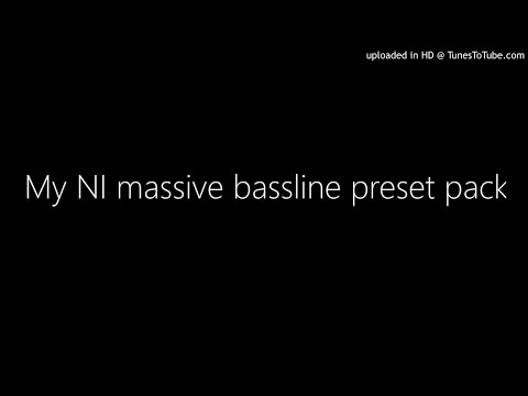 My NI massive bassline preset pack