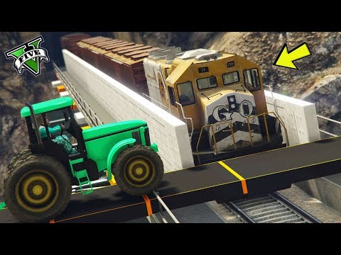 GTA 5 ONLINE 🐷 TRENO VS PARKOUR 2 !!! 🐷 GARE PARKOUR 🐷N*334🐷 GTA 5 ITA 🐷 DAJE !!!