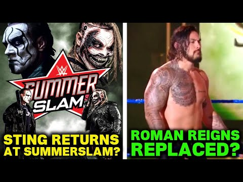 Roman Reigns Secretly REPLACED By New Samoan! Sting RETURNING At SummerSlam 2020 For The Fiend?