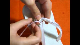 Repeat youtube video Chinelo havaianas com strass - Passo a passo (DIY)