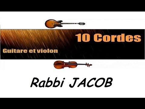 10 cordes - Rabbi Jacob + la danse de Rabbi Jacob - guitare violon cover + partitions