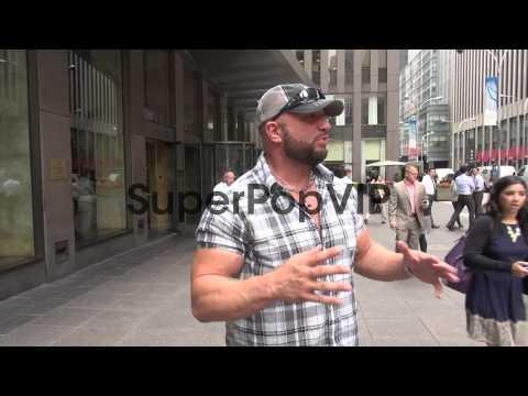 Mark LoMonaco outside the McGraw-Hill Building in New Yor...