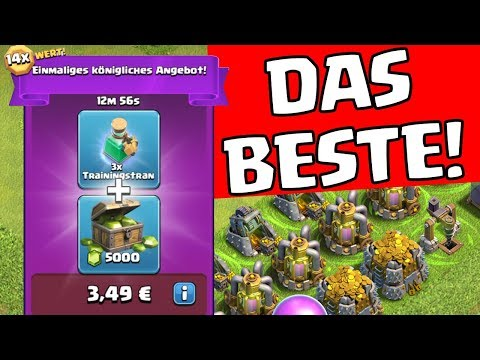 Das BESTE Angebot in CLASH OF CLANS! ☆ CoC