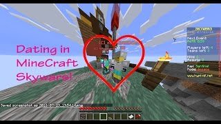 DATING IN MINECRAFT SKYWARS?!