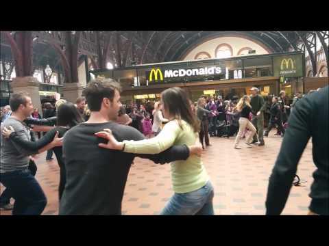 Salsa Flash Mob Copenhagen