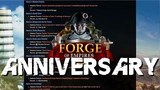 Win Mobile Devices - 5 Years of Forge of Empires!