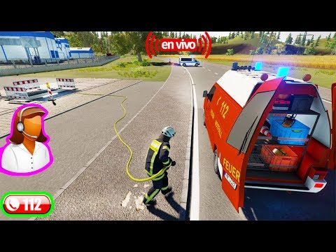 Emergency Call 112 – The Fire Fighting Simulation Somos unos