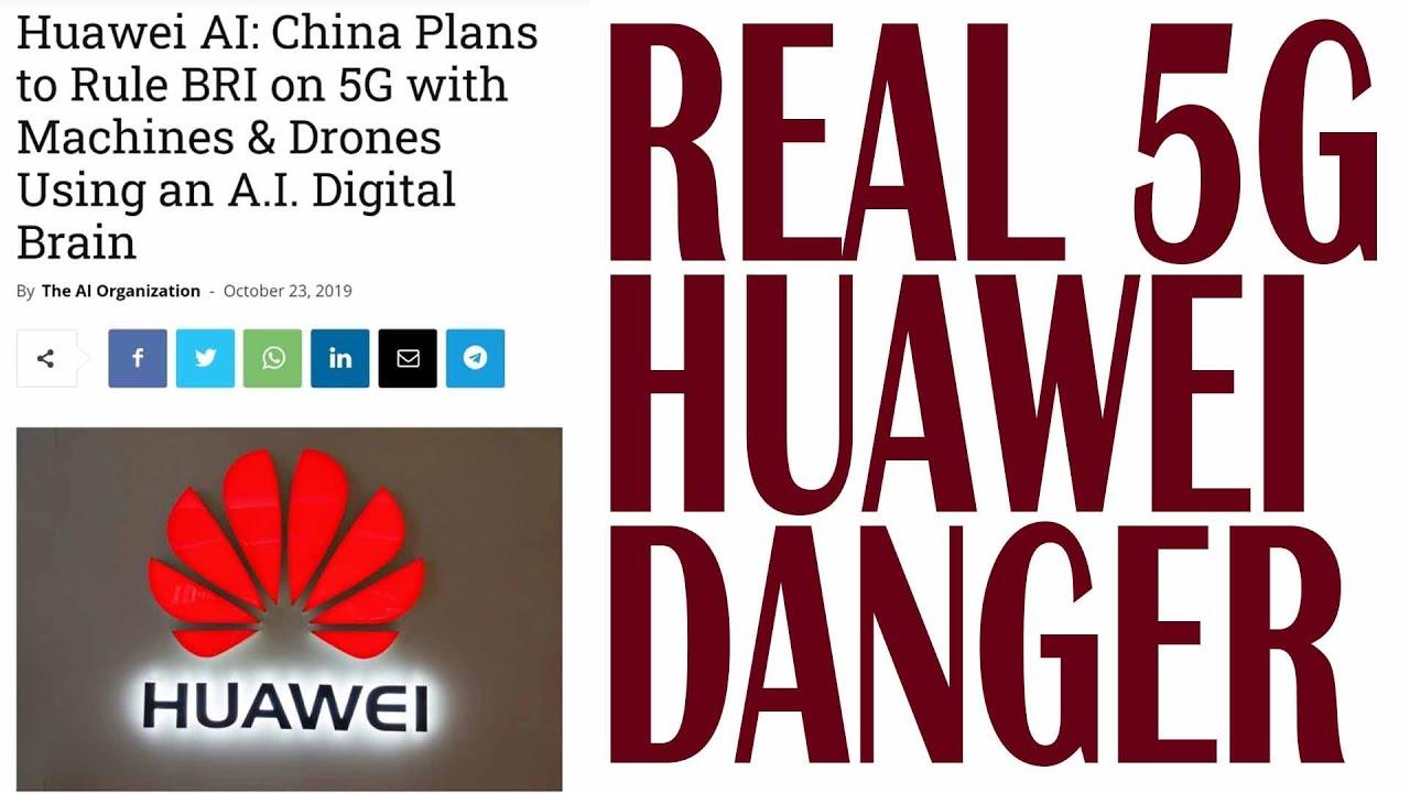 Real Danger of China CCP Huawei 5G AI BRI Grid Network-Cyrus A. Parsa