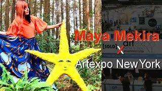 アニメ声優 音宮 つばさとして活躍し、現在はアーティストとして創作活動を続ける Maya Mekiraさんが、ニューヨークで行 われるアートフェア「Arte...