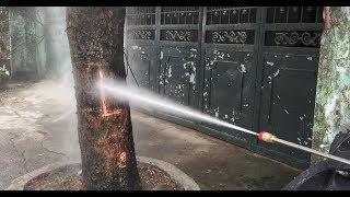 Hướng dẫn lắp đặt và TEST áp lực siêu mạnh của máy rửa xe Lucky 2600PSI...