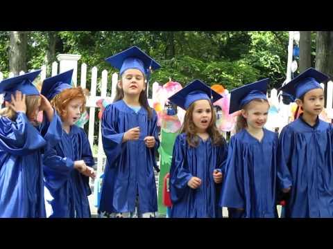 Moving up to Kindergarten Song Francescas Grad  2012