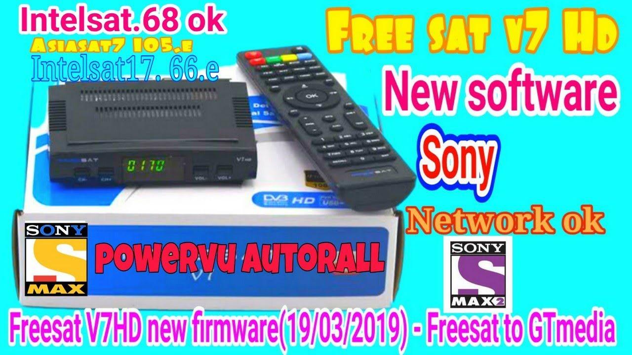 Freesat V7HD new software firmware(19/03/2019) - Freesat to